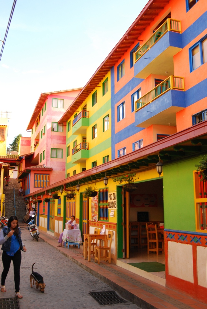 The town of Guatapé: a reminder of one reason why I love Latin America. The colors!
